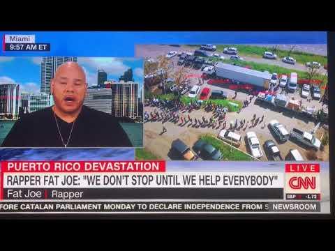 Fat Joe Gives to Puerto Rico