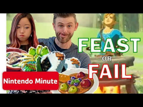 The Legend of Zelda: Breath of the Wild - Ultimate FEAST or FAIL Challenge | Nintendo Minute