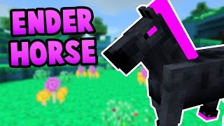 How To Spawn the Ender Horse in Minecraft Pocket Edition (Windows 10 Edition)