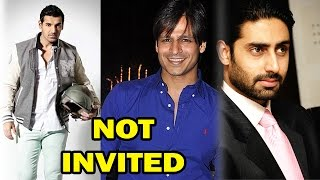 Bollywood Stars Who Were Not Invited By Salman Khan! - EXCLUSIVE