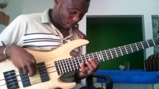 dwayne livingstone on an esp ltd b 1005