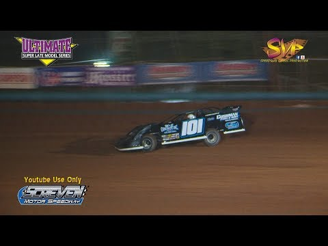 Ultimate Super Qualifying Screven Motor Speedway Nov  18, 2017