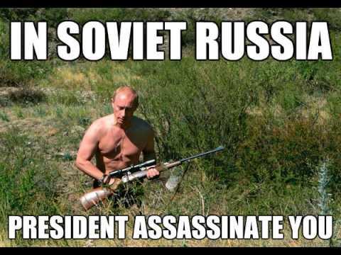 Gänget - Ryssland