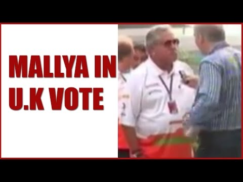Vijay Mallya A UK Voter: Reports Sunday Times