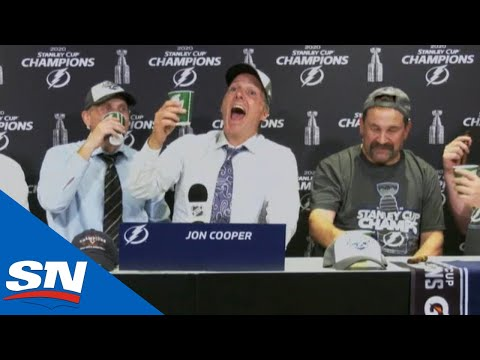 Cooper Took Lightning 'From Outhouse To Penthouse' With Stanley Cup Win