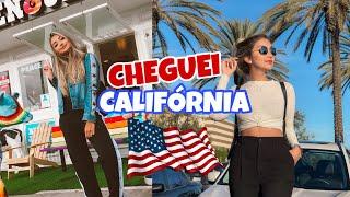 CHEGUEI NA CALIFORNIA! - VLOG