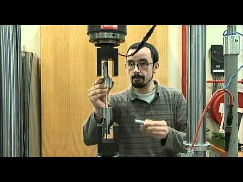 Vídeo Ensaios mecânicos de materiais metálicos