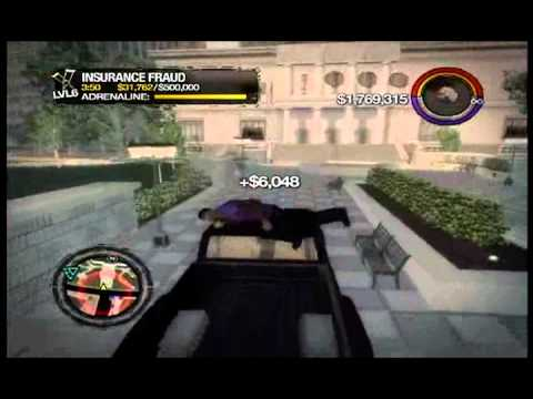 how to get gold in saints row 4 fraud