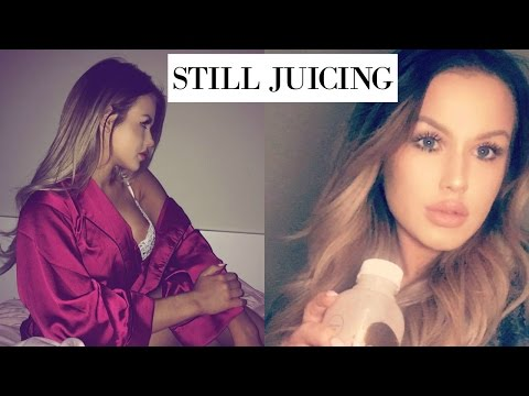 im wet, cold and juicing | DailyPolina