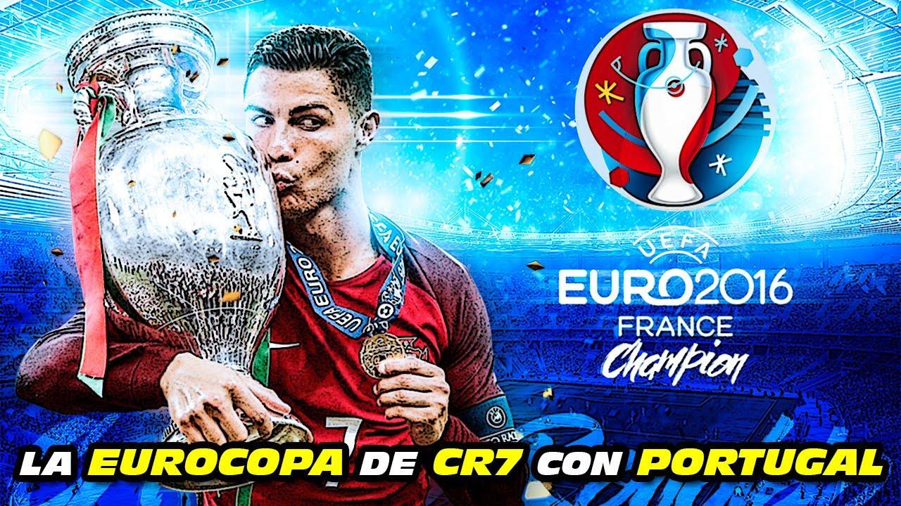 La EUROCOPA 🏆 de CRISTIANO RONALDO con 🇵🇹 PORTUGAL