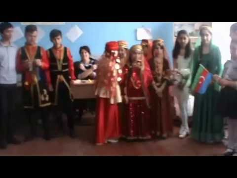 Traditional costumes of European countries-Azerbaijan,Sumgait