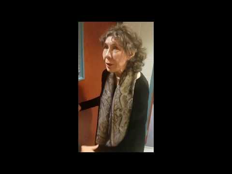 Meeting Lily Tomlin in Erie, PA