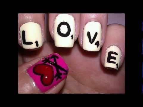 Scrabble Nails Tutorial!