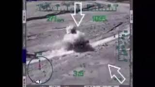 Видео ВКС Российских Военно Космических сил в Сирии. Уничтожение террористов и техники ИГИЛ!
