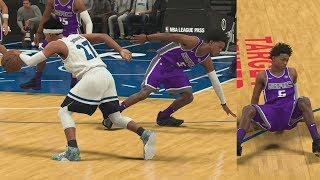 NBA 2K18 My Career - Wasted Ankle Breakers! PS4 Pro 4K Gameplay