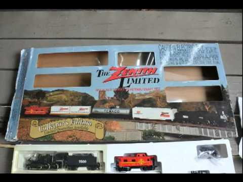 ZENITH LIMITED HO SCALE MODEL ELECTRIC TRAIN SET