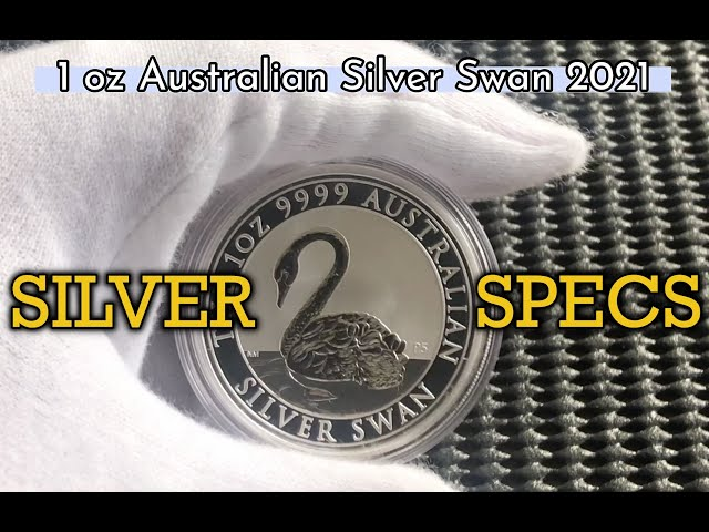 SILVER SPECS-  1 oz Silver Swan 2021