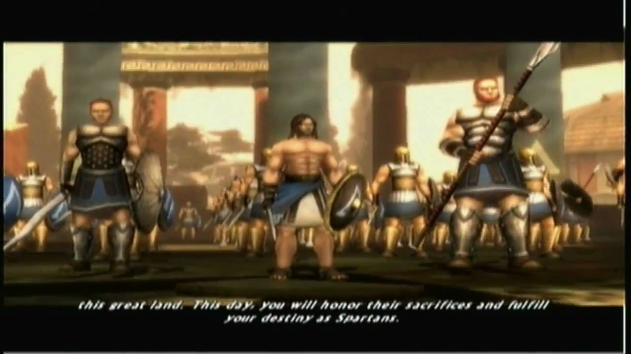 Xbox Spartan Total Warrior Act1 Ch1 The Storm Breaks