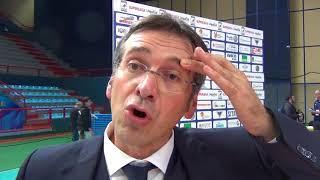01-11-2017: #SuperLega Lorenzo Tubertini nel post New Mater - Vibo 2-3