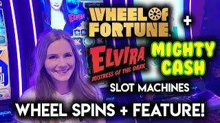 Mighty Cash Elvira! Mistress of the Dark Slot Machine! BONUS WIN!!