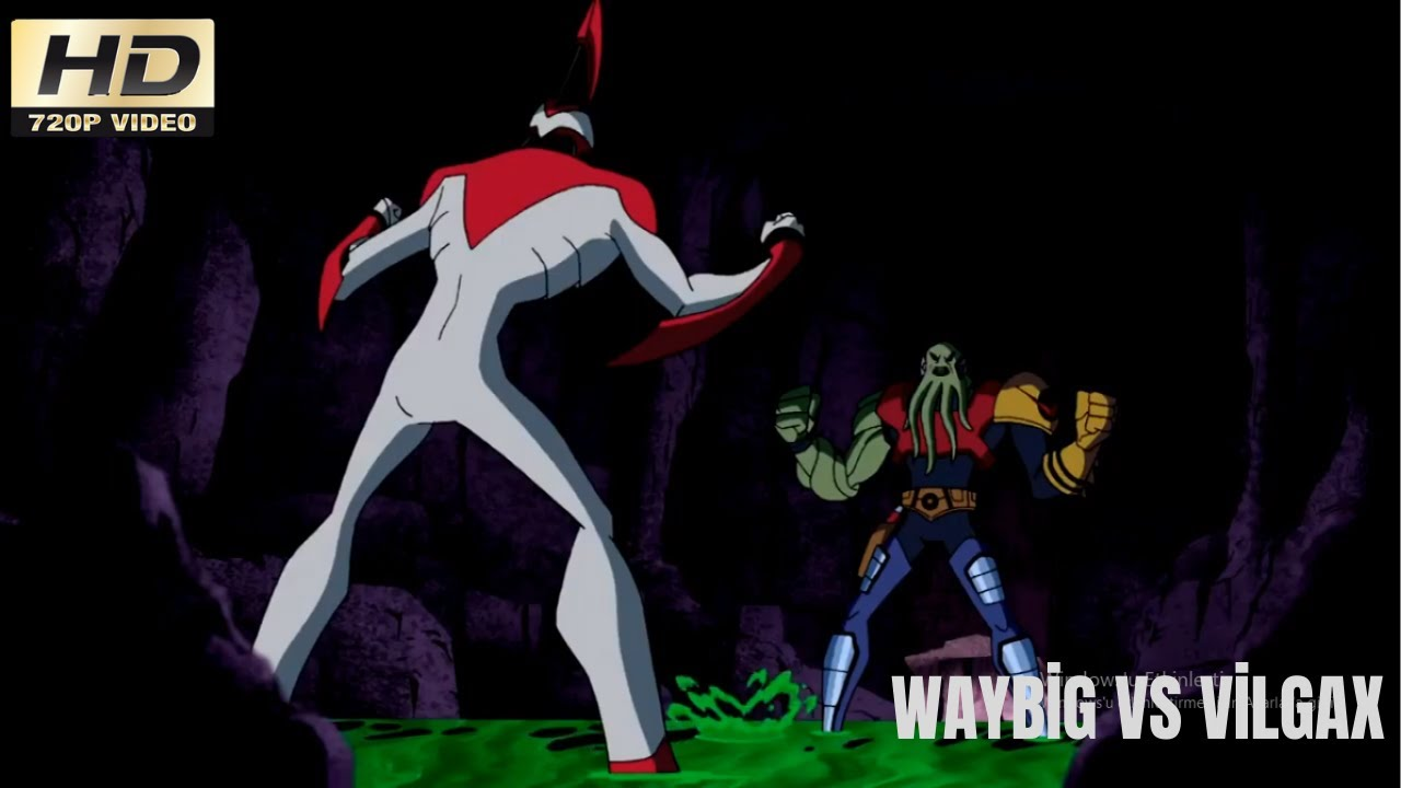 Download Waybig vs Dev Vilgax - Ben 10 Alien Force Türkçe