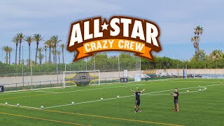 ALL-STAR CRAZY CREW ¡Retos de Fútbol!