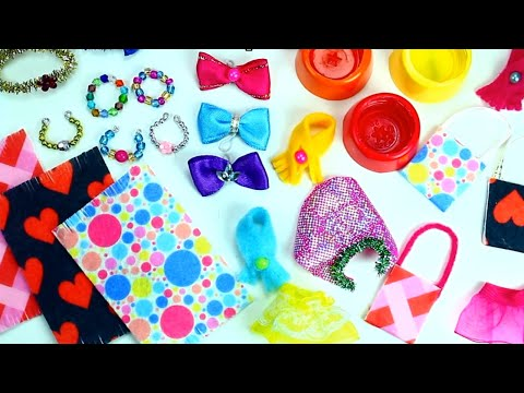 10 Easy DIY Miniature L.O.L, Barbie  & LPS Pet / Doll Gift Accessories - 10 Quick and Easy DIY Ideas