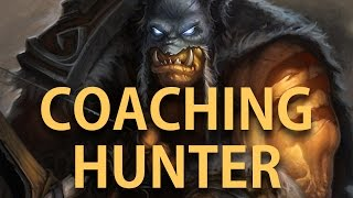 Hearthstone: Coaching a viewer to Legend with Midrange Hunter Part#3 - Wrapping it up