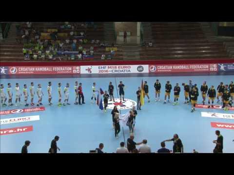 Slovenia vs Spain (Group M1) - EHF M18 EURO 2016