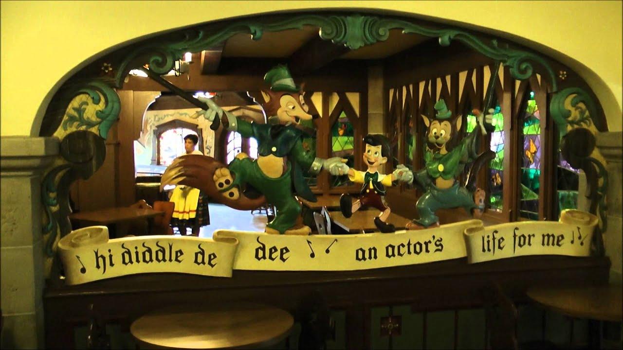 The Pinocchio Village Haus, Magic Kingdom, Walt Disney World   YouTube