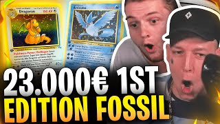 😍😱1st EDITION Dragoran aus 23.000€ FOSSIL DISPLAY?! | SPEZIAL Break mit MONTE