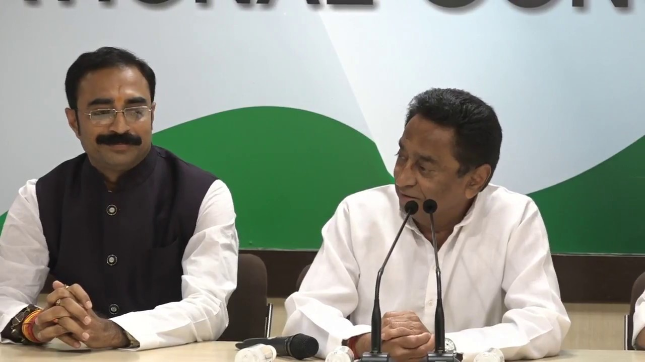 AICC Press Briefing by Kamal Nath, Jyotiradtya Scindia and Deepak Babaria at Congress HQ