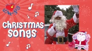 Santa He Has a Red Red Coat Kids Christmas Song Sung by Children