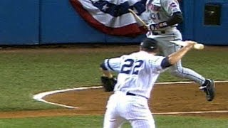 2000WS Gm2: Clemens throws bat in direction of Piazza