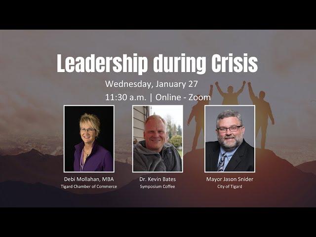 Leadership During Crisis
