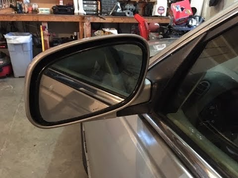 How to repair / replace 1999 Lincoln Town Car Driver's Side Mirror