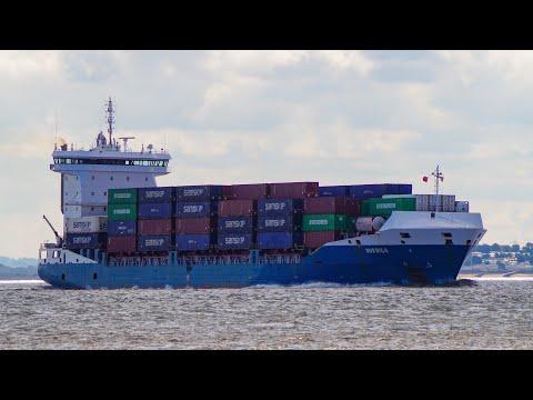 NORDICA - Feeder container ship heading for tilbury 18/8/20