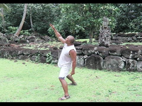 INCREDIBLE HAKA DANCE - Nuku Hiva, Marquesas Islands