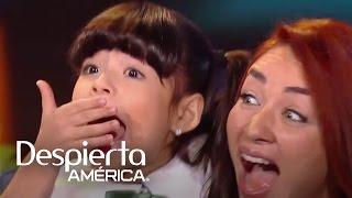 Daniela Luján recordó a 'Luz Clarita' en Pequeños Gigantes