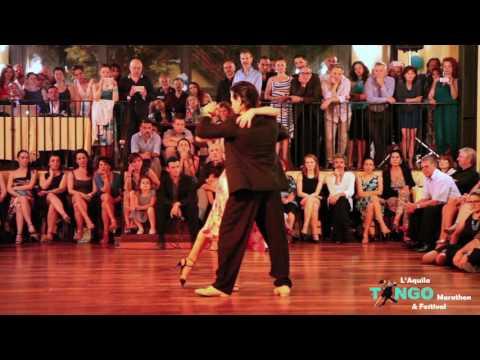 Mariana Dragone & Gaston Torelli 1/4 - Tu - Orquesta Romantica Milonguera