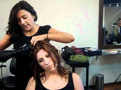 how to diffuse curly hair tips from celebrity hair stylist michelle sanders youtube