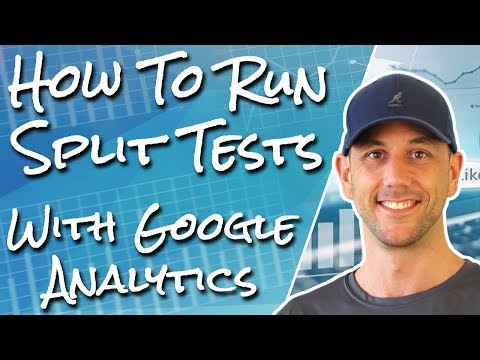 How To Run A Split Test On Thrive Themes With Google Analytics Experiments - DIY Sales Funnel #8