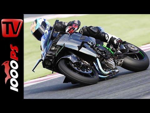 Test Kawasaki Ninja H2 R | 326PS Topspeed, Beschleunigung, Sound Foto