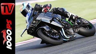 Test Kawasaki Ninja H2 R | 326PS Topspeed, Beschleunigung, Sound