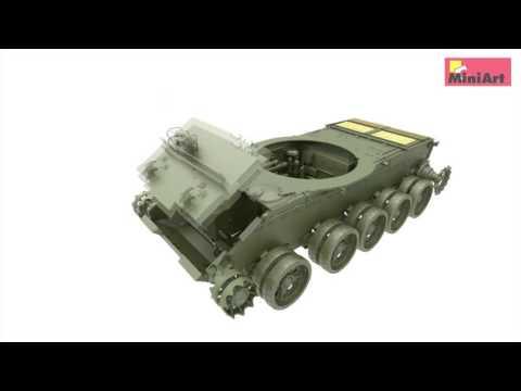 T 54 B SOVIET MEDIUM TANK Early Production by MiniArt 37011