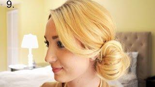 Как красиво собрать волосы в пучок на вечер  Фото инструкция(https://www.youtube.com/channel/UCZuJbMAmzMZxmPKPKXfenXA Подписывайтесь на наш канал., 2015-01-18T13:54:14.000Z)