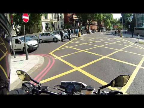 Husqvarna Nuda 900R London ride - Chiswick to Soho