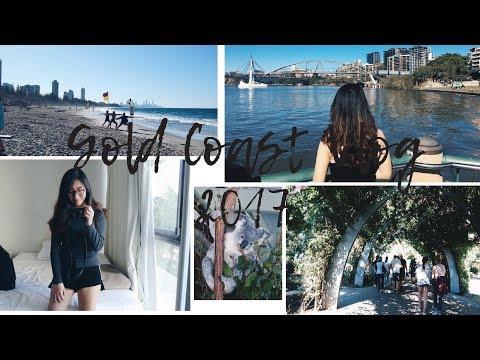 HELLO GOLD COAST!  | 2017 Vlog