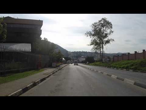 Swaziland Mbabane filmée en Go pro / Swaziland Mbabane filmed Go pro