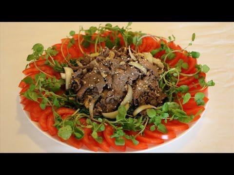 Cách làm Thịt bò trộn xà lách xoong   BẾP VIỆT 24